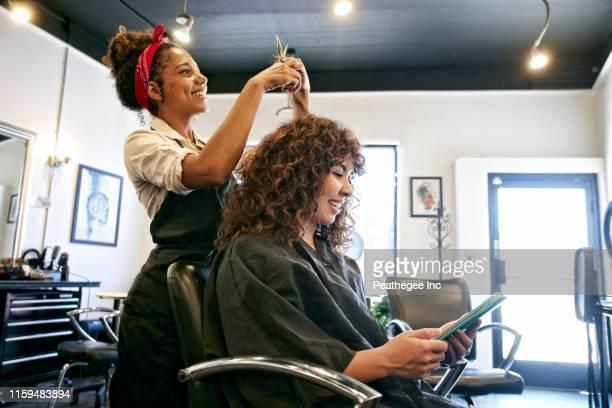 salon - parrucchiere foto e immagini stock