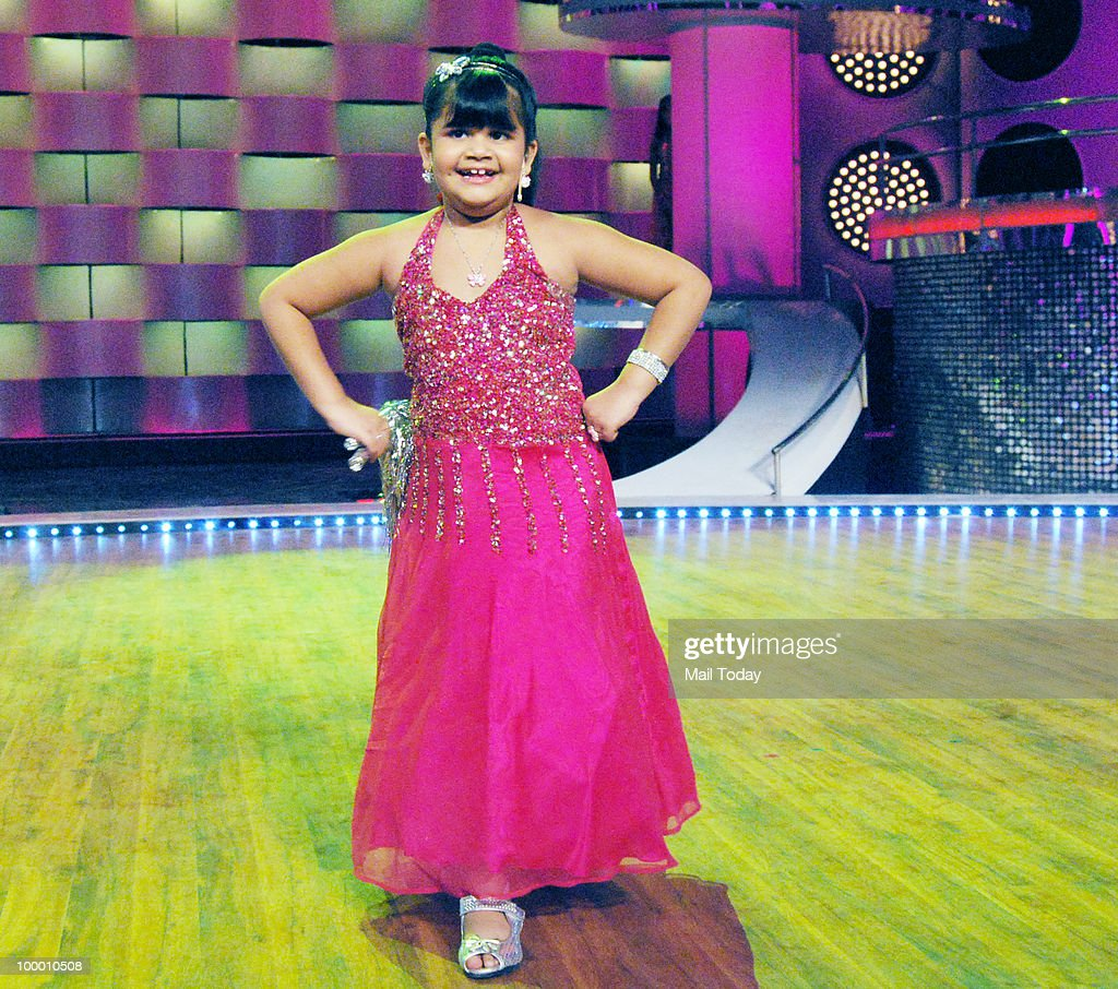 Saloni Daini on the sets of the show Chak Dhoom Dhoom in Mumbai on May 18, 2010.