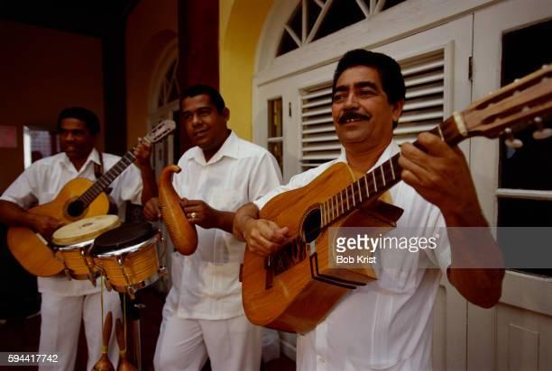 Salsa Musicians Performing