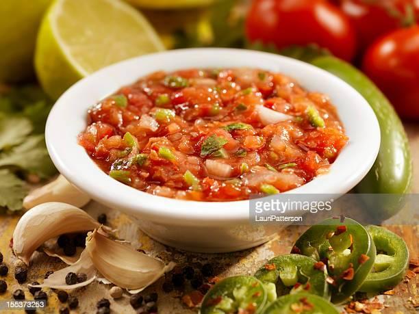 salsa - salsa sauce stock photos and pictures