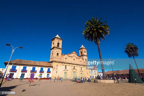 salt cathedral of zipaquira in bogota, colombia - cundinamarca stock pictures, royalty-free photos & images