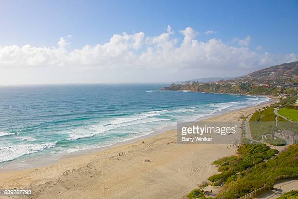 salt creek beach at monarch bay, ca - laguna niguel stock pictures, royalty-free photos & images