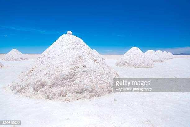 Salt flat, Salar de Uyuni, Bolivia