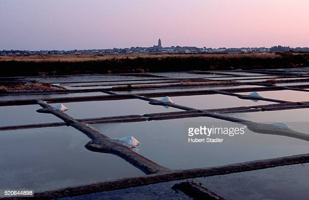 Salt Flats in Brittany