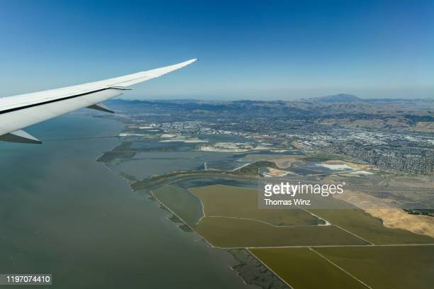 salt flats , san francisco bay , east bay - east bay regional park stock pictures, royalty-free photos & images