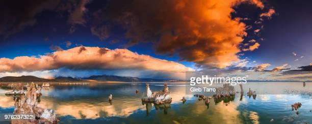 Salt Formation, Mono Lake, California, USA