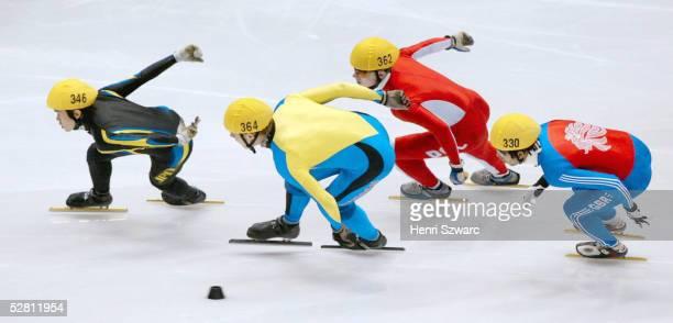 Salt Lake City; 1000m/MAENNER/VORLAUF; Naoya TAMURA/JPN, Martin JOHANSSON/SWE, Krystian ZDROJKOWSKI/POL, Leon FLACK/GBR