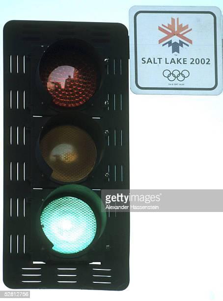 CITY 2002 Salt Lake City AMPEL mit Olympia Logo