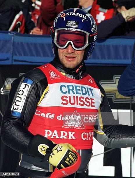 Salt Lake City Ski Weltcup Der norwegische Skiläufer KjetilAndré Aamodt