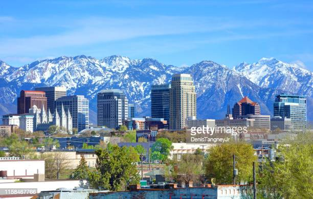 salt lake city, utah - utah stock pictures, royalty-free photos & images