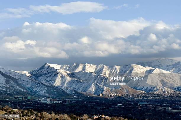 salt lake city, utah - salt lake city utah stock photos and pictures