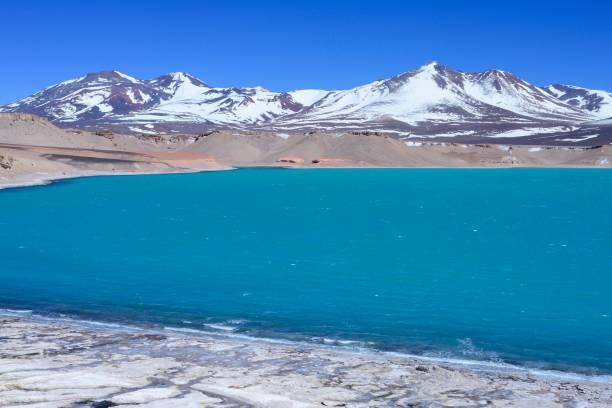 Salt Lake Laguna Verde, Paso de San Francisco, Region de Atacama, Chile