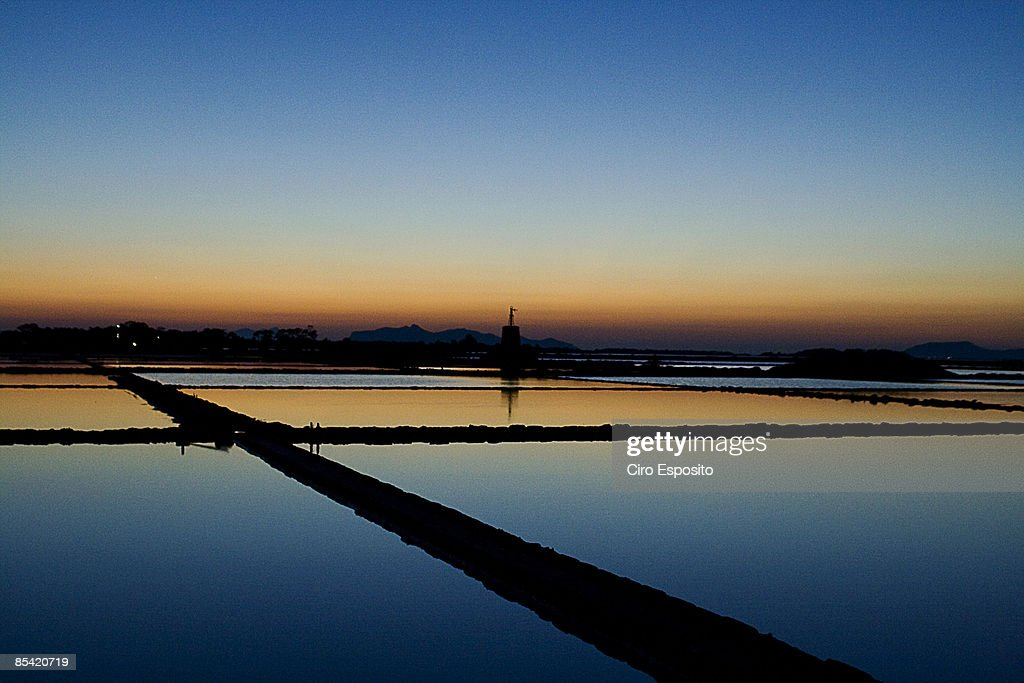 Salt lake : Stock-Foto