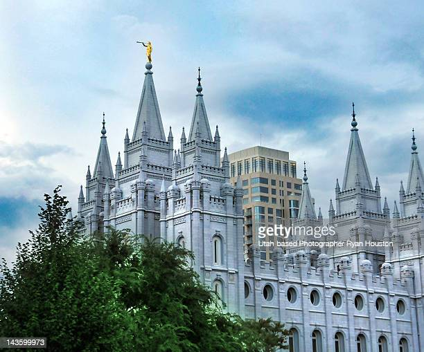 Salt Lake temple from North Temple