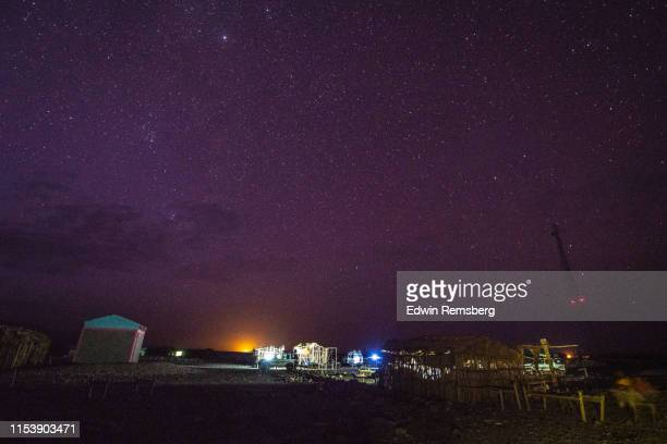 salt mine camp - space and astronomy stock pictures, royalty-free photos & images
