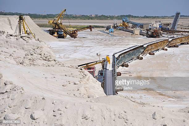 Salt mine, Salin de Giraud, Camargue, France, Europe