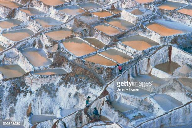Salt Mines at Maras, Peru