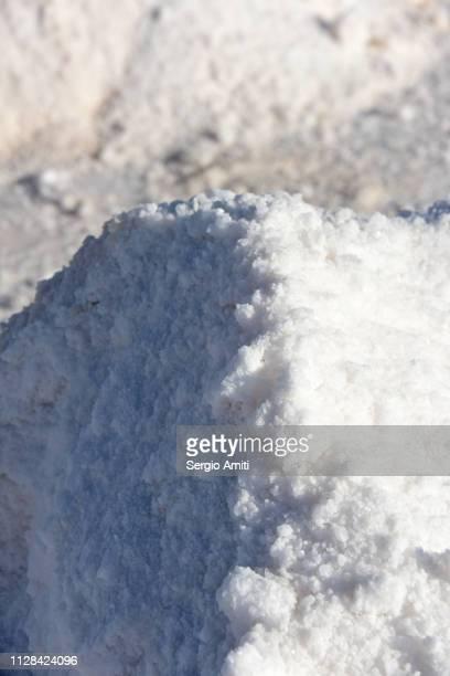 Salt mound at Salar de Uyuni