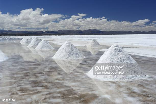 Salt production Salar of Uyuni or of Tunupa is the world's largest salt lake it is elevated 3656 meters above the mean sea level