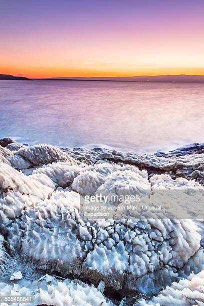 salt rock - dead sea stock pictures, royalty-free photos & images