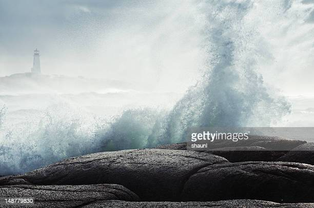 salt spray - breaking wave stock pictures, royalty-free photos & images