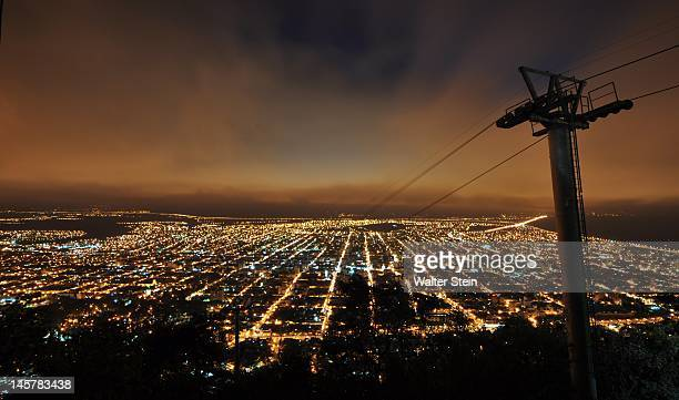salta by night - salta argentina stock photos and pictures