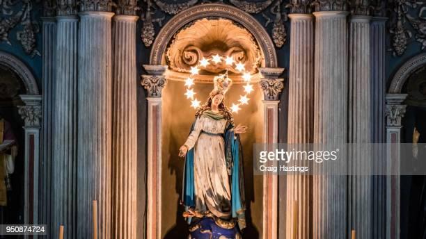 salta cathedral northern argentina - nonnenkloster stock-fotos und bilder
