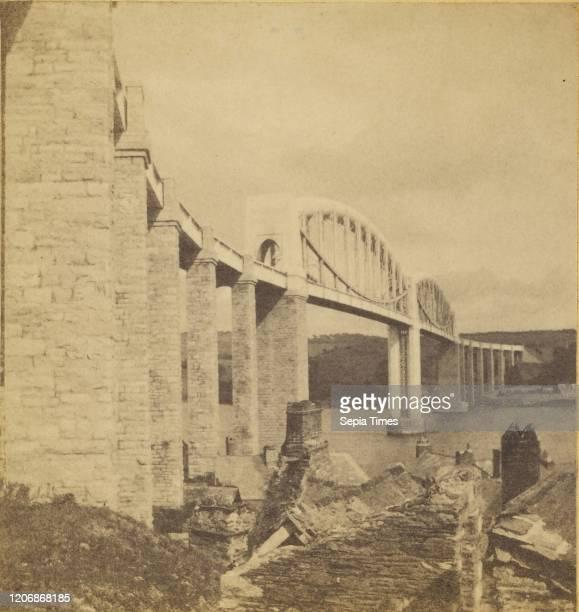Saltash Bridge, Devon, England, William May , 1860-1865, Albumen silver print.