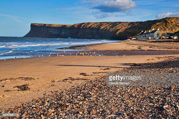 saltburn by sea, north yorkshire coast,  england - saltburn stock photos and pictures