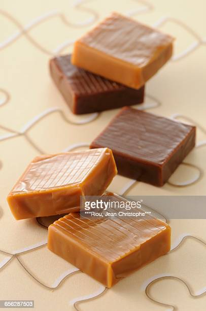 Salted butter fudge