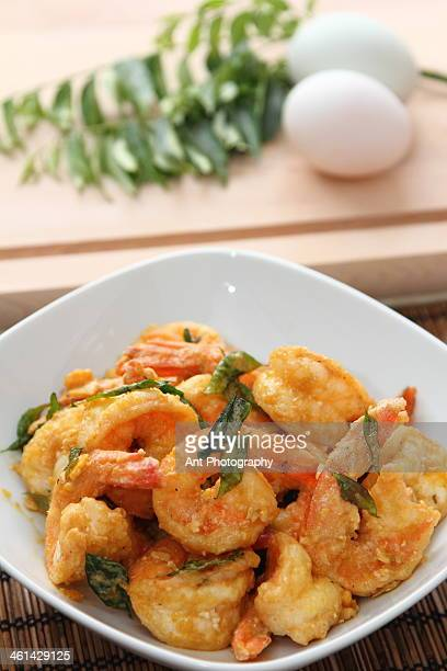 salted egg yolk prawn - salted stock photos and pictures