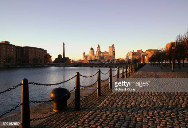 Salthouse Dock Near Albert Dock in Liverpool
