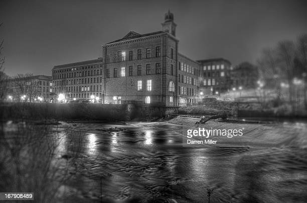 Salts Mill at slataire Heritage Site, West Yorkshire, UK