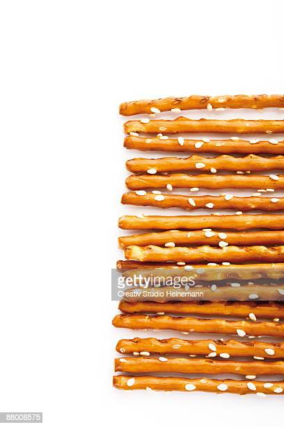 saltsticks in a row, elevated view - spoil system stock pictures, royalty-free photos & images