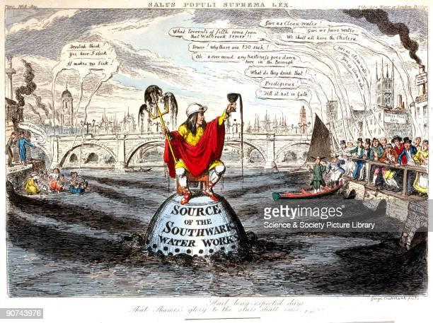 'Salus Populi Suprema Lex' George Cruickshank drew this caricature to illustrate a satirical poem �The Royal Address of Cadwallader apTudor apEdwards...