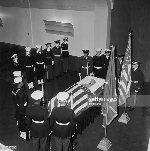 honor guard saluting casket of douglas macarthur pictures