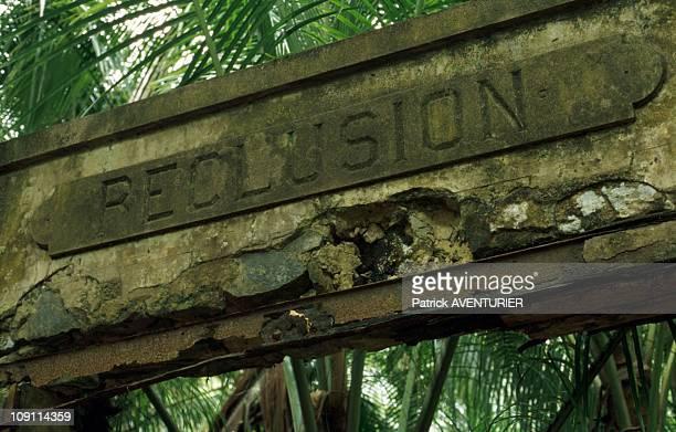 Salute Islands On January 9Th France. Penal Colony On Saint Joseph Island