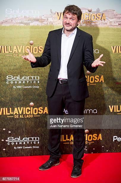 Salva Reina attends 'Villaviciosa De Al Lado' premiere at Capitol Cinema on December 1 2016 in Madrid Spain