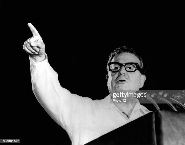 Salvador Allende Gossens 1908 1973 Physician and first democratically elected Marxist to become president of Chile 197073 He was deposed in a coup...