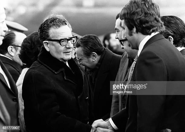 Salvador Allende President of Chile circa 1972