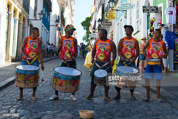 salvador - brazil - reggae stock photos and pictures