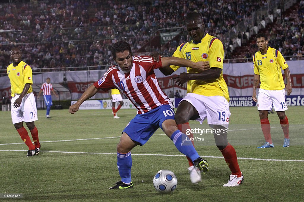 Paraguay v Colombia - 2010FIFA World Cup Qualifier