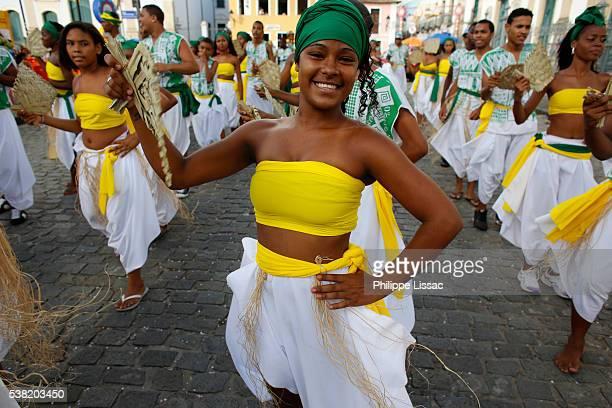 Salvador carnival in Pelourinho