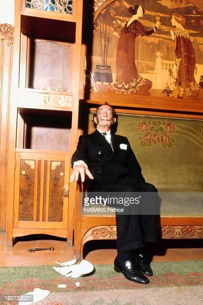 From Barcelona To Paris. Paris - Juillet 1969 --- Salvador DALI est descendu à l'hôtel Meurice, chambre n° 106. Ayant besoin de repos avant...