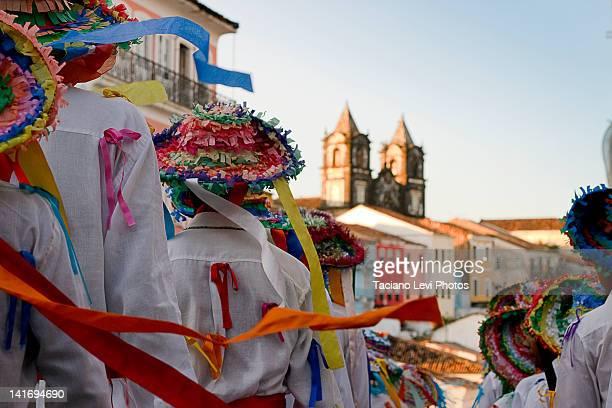 salvador festival - vestido tradicional fotografías e imágenes de stock