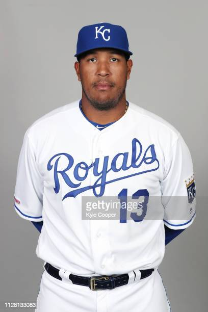 Salvador Perez of the Kansas City Royals poses during Photo Day on Thursday February 21 2019 at Surprise Stadium in Surprise Arizona