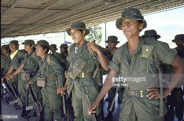 Salvadoran government troops during antiinsurgency operations