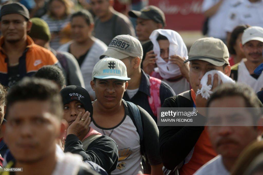 EL SALVADOR-US-MIGRATION : News Photo