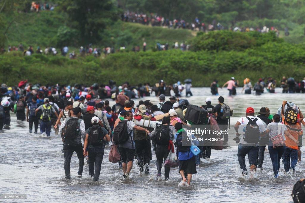 GUATEMALA-MEXICO-EL SALVADOR-US-MIGRATION : News Photo