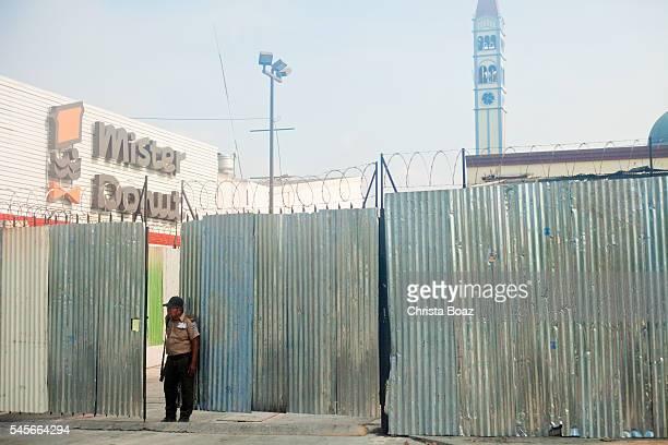Salvadorian Security Guard